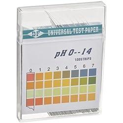 Healthcentre Kit Per Misurare Ph Acqua, 100 Strisce