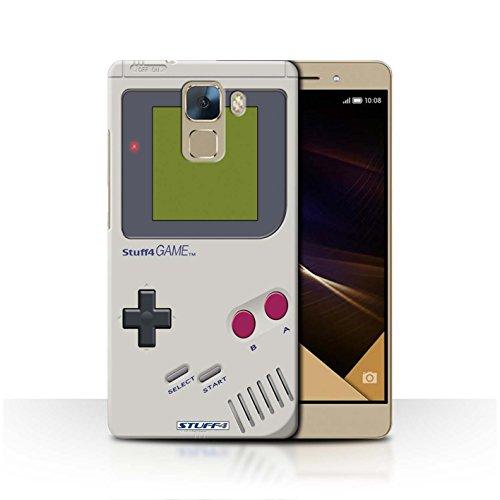Stuff4 Hülle / Hülle für Huawei Honor 7 / Nintendo Game Boy Muster / Spielkonsolen Kollektion