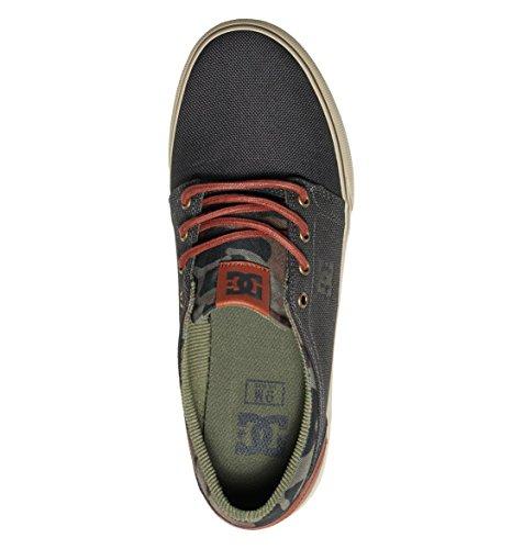 DC Uomo Scarpe / Sneaker Trase TX LE Verde militare