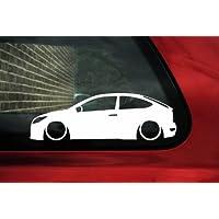 Adhesivo degradado de coche para Ford Focus RS MK2