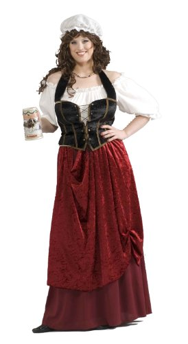 Tavern Wench Costume (Plus Size) Fancy ()