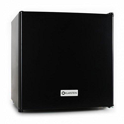 Klarstein Mini frigo silencieux (design soigné, capacité de 40L, compartiment pour bac à glaçons et thermostat inclus, 2 étages) - noir