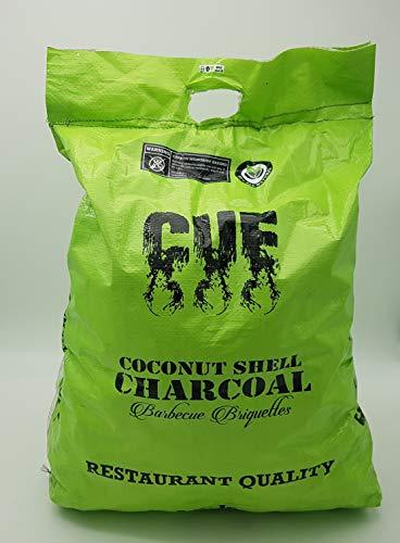 Coquille de Noix de Coco pour Barbecue Charbon de Bois par Cue - Sacs de 12 kg - Restaurant de qualité 100% Naturel