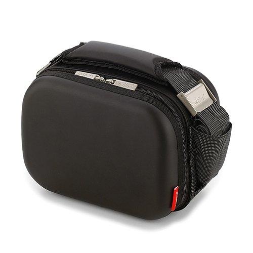 Valira Porta alimentos - Bolsa Satin Mini, color negro