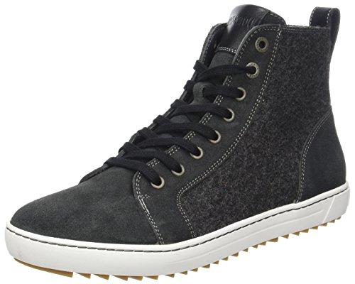 BIRKENSTOCK Damen Bartlett Women Hohe Sneaker, Schwarz (Black Felt), 37 EU