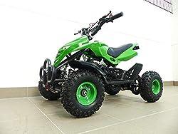 RV-Racing Kinderquad 49ccm Quad ATV Miniquad Kinder pocketbike pocketquad Grün