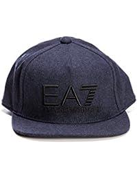 Gorra EA7 con logotipo.
