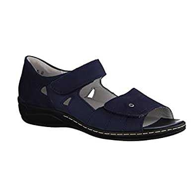 e4144b4905e1 Image Unavailable. Image not available for. Colour  Waldlaufer Womens  Hilena Velcro Sandals 582028 ...