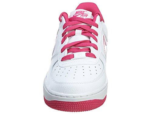 Nike Air Force 1(GS) Bambina Scarpe da Basket 314219-600 White/Hot Pink