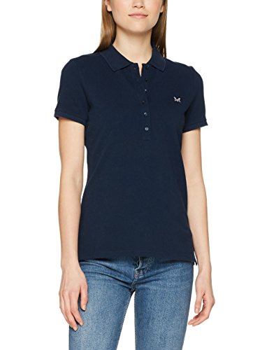 Crew Clothing Classic, Polo Donna Blue (Heritage Navy White)