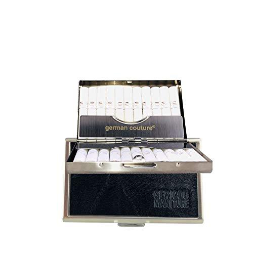 German Couture® ORIGINAL - HEET-CASE für IQOS HEETS mit edlen Premium Vintage Leder - edles Zigarettenetui passend zu Holder + Charger 2.4 3 Plus Multi -