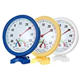Best GENERIC Outdoor Thermometers - Generic Standing Mini Indoor And Outdoor Thermometer Hygrometer Review