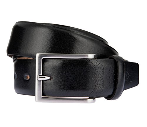 LLOYD Men's Belts Ceinture en cuir pour homme Noir