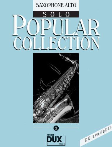 Popular Collection Band 3 für Altsaxophon solo