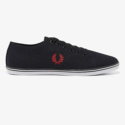 Fred Perry Kingston Twill Black 43 -