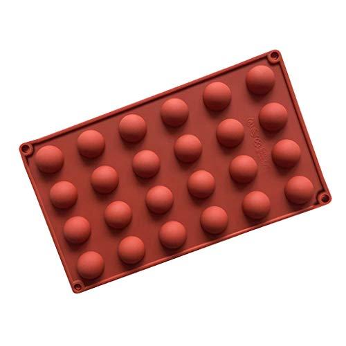 YPMMX Demi-Boule Sphère Gâteau En Silicone Moule Muffin Chocolat Biscuit Moule De Cuisson Moule De Gâteau De Cuisson Ustensiles De Cuisine gâteau décoration Outils,UNE