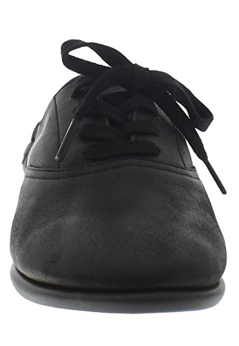Softinos Val363sof Smooth, Ballerines femme Schwarz (Black)