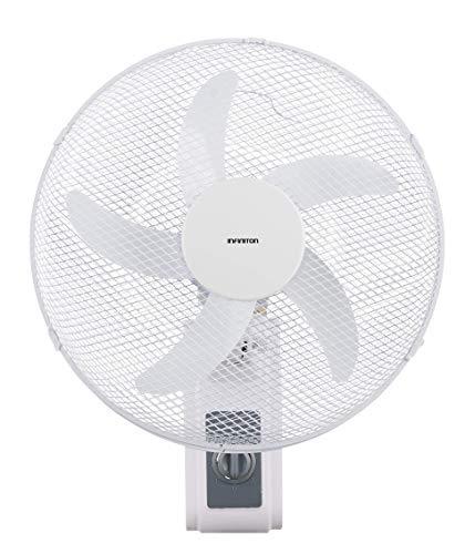 INFINITON Ventilador de Pared WN-31W 40cm, 3 velocidades, Amplia Cobertura, 230v/50hz/60w Manual