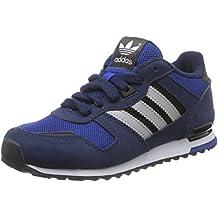 Adidas ZX 700 J, Zapatillas de Deporte para Niños, Azul (Azuuni/Azuart/Ftwbla), 36 2/3 EU