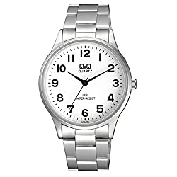 Q&Q Analogue White Dial Mens Watch - C214J204Y