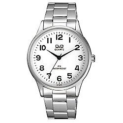 Q&Q Analogue White Dial Mens Watch - C214J204Y