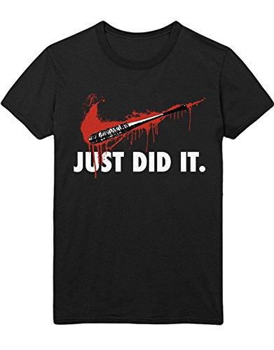 T-Shirt TWD JUST DID IT. C983066 Schwarz XXXL