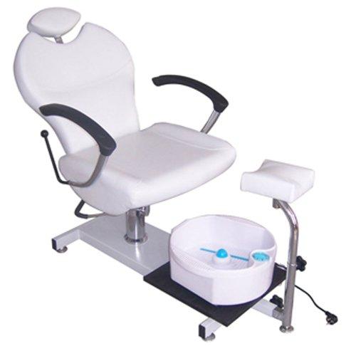 FIGARO höhenverstellbarer Fußpflegestuhl mit kippbarer Rückenlehne sowie...
