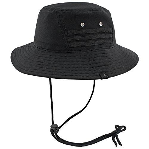adidas Herren Victory II Bucket Hat, Herren, schwarz/schwarz, Einheitsgröße -