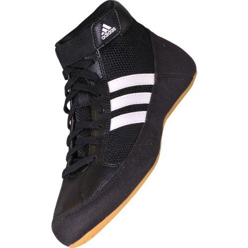 Adidas Havoc K-Lace Wrestling-Schuhe, Schwarz - schwarz - Größe: 10 UK