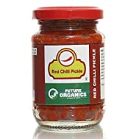 Future Organics Pickle Red Chili 160 gm Bottle