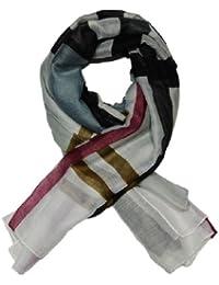 Ladies elegant and Fashionable viscose printed scarf - LARGE CHECKERED (YSSF001)