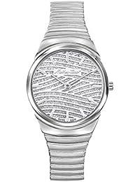 Mathey-Tissot Analog Silver Dial Women's Watch-D1091AIS