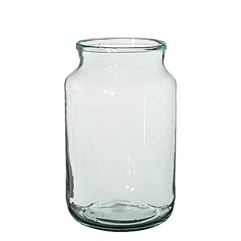 Mica decorations 146545 Vienne Vase, Glas, transparent, 18 x 18 x 30 cm