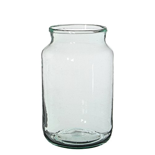 Mica decorations 146545 Vienne Vase, Glas, transparent, 18 x 18 x 30 cm