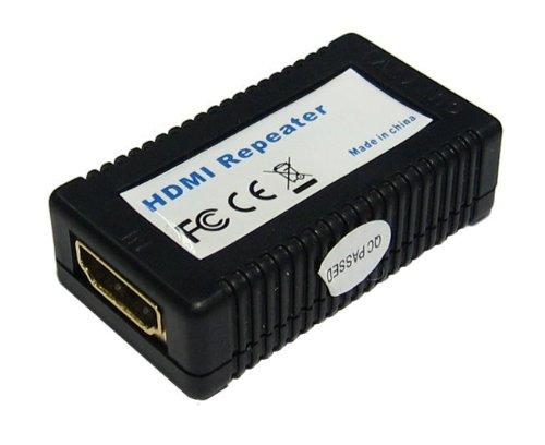 Professionalität HDMI Repeater - entfernt glitzert (digital noise) - Daisy Chain - 40m Reichweite - 1080p (Full HD) - HDCP-kompatibel - weiblich zu weiblich Hdcp-repeater