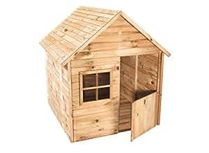 Forest style cabane maisonnette en bois pour enfant - Casetas de exterior aki ...