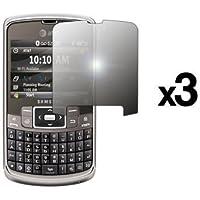 Confezione da 3LCD Premium riutilizzabile pellicole proteggi schermo a specchio per Samsung Jack i637