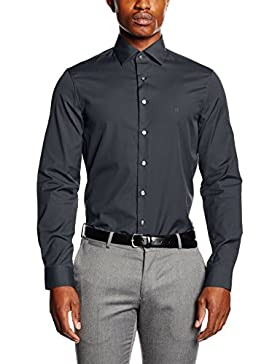 Calvin Klein Cannes Fitted FEC-Camicia Formale Uomo