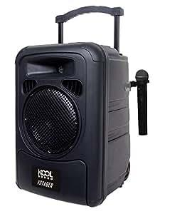 Kool Sound Voyager Enceinte mobile sur batterie Noir