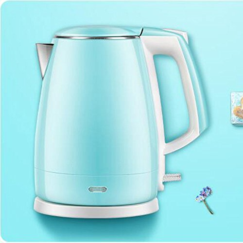 GPC Electric Kettle 304 Stainless Steel Electric Kettle Home Kettle Automatic Power off Fast Pot 1.5L 1500W Electric Kettles,Blue