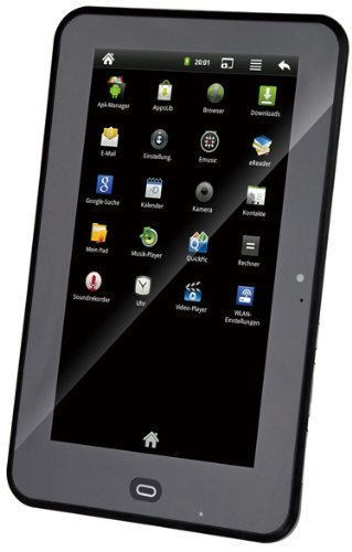 JAY-tech 799 17,8 cm (7 Zoll) Tablet-PC (IMAPX 210, 800MHz, 512MB RAM, 4GB HDD, Android 2.3) anthrazit - 800 Mhz 512 Mb Ram
