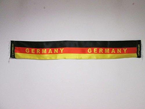 Bufanda de Alemania para hinchas – Bufandas de raso alemana 150 cm – AZ FLAG