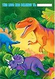 amscan Partytüte Dino 8 Stück