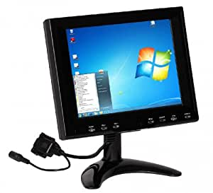 skyport 20 32cm led lcd touchscreen monitor vga usb. Black Bedroom Furniture Sets. Home Design Ideas