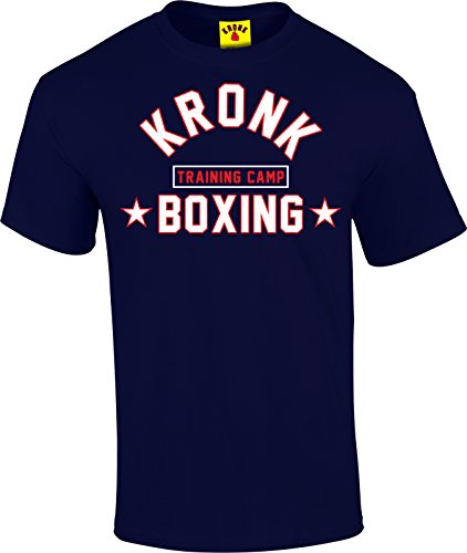 KRONK Boxing Training Camp T Shirt (large, Navy) (Hoya-t-shirt La De)