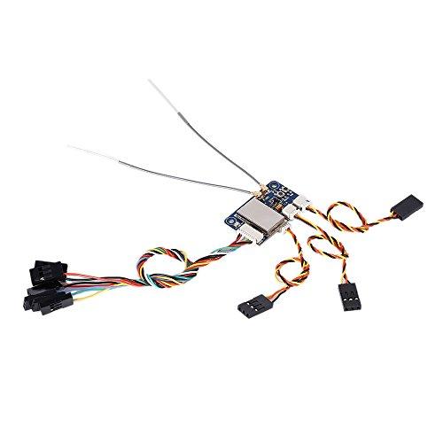 XCSOURCE® FS-X6B 2.4G Receptor i-BUS PPM PWM de 6 canales para AFHDS...