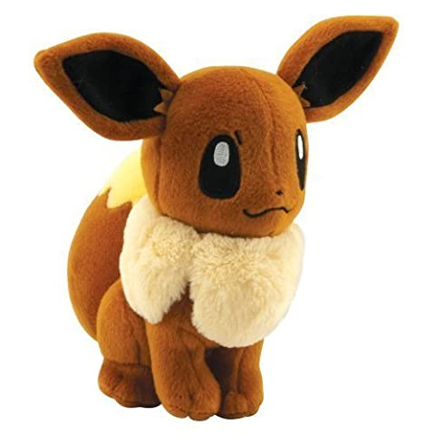 Pokémon - Jeux de Figurines - Figurine - Peluche Evoli 20cm
