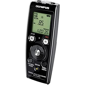 Olympus VN-2100PC Digital Voice Recorder with microphone