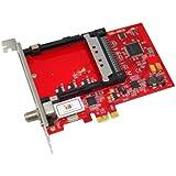 TBS 6618, DVB-C Single-Tuner, PCIe Kabel-HDTV Empfangskarte mit CI für PayTV