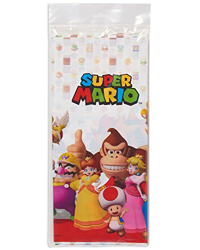 # Amscan 571554– Copritavola in plastica in tema Super Mario, 1,2x 1,8m miglior prezzo